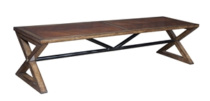 The Plank Road Dining Bench