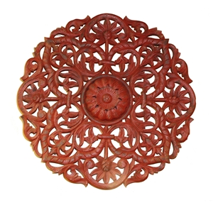 ROUND PANEL - RED