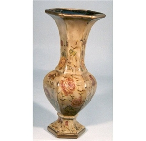 ANTIQUE PORCELAIN ROSE VASE