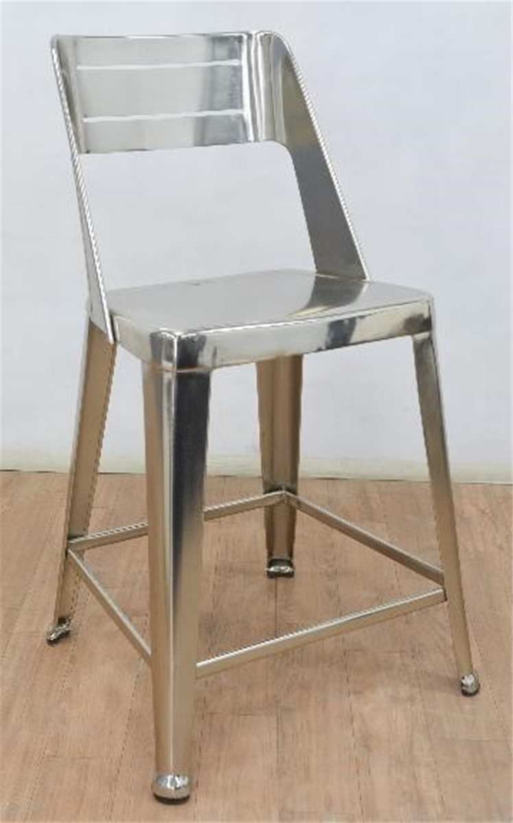 Daxtir Nickel Counter Chair