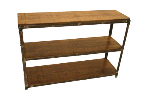 2-SHELF OPEN CONSOLE