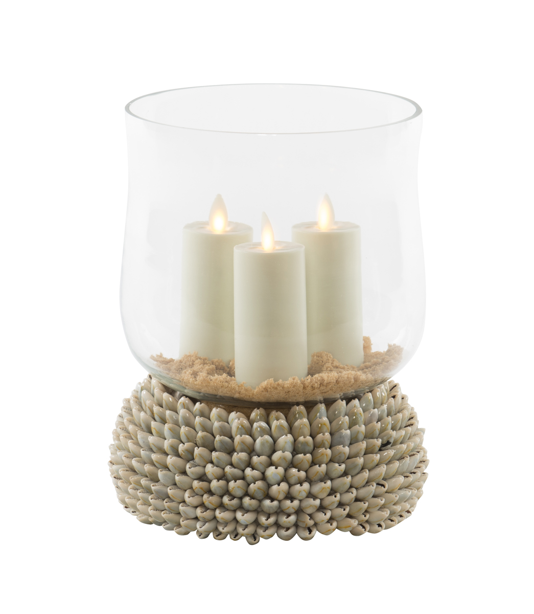 sc 1 st  Accessories Abroad & CYPERIA ANNALUS SHELL CANDLE HOLDER - SMALL
