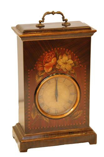 WOODEN DESK CLOCK