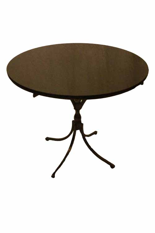 THE VARINA BREAKFAST TABLE WITH GRANITE TOP - Granite top breakfast table