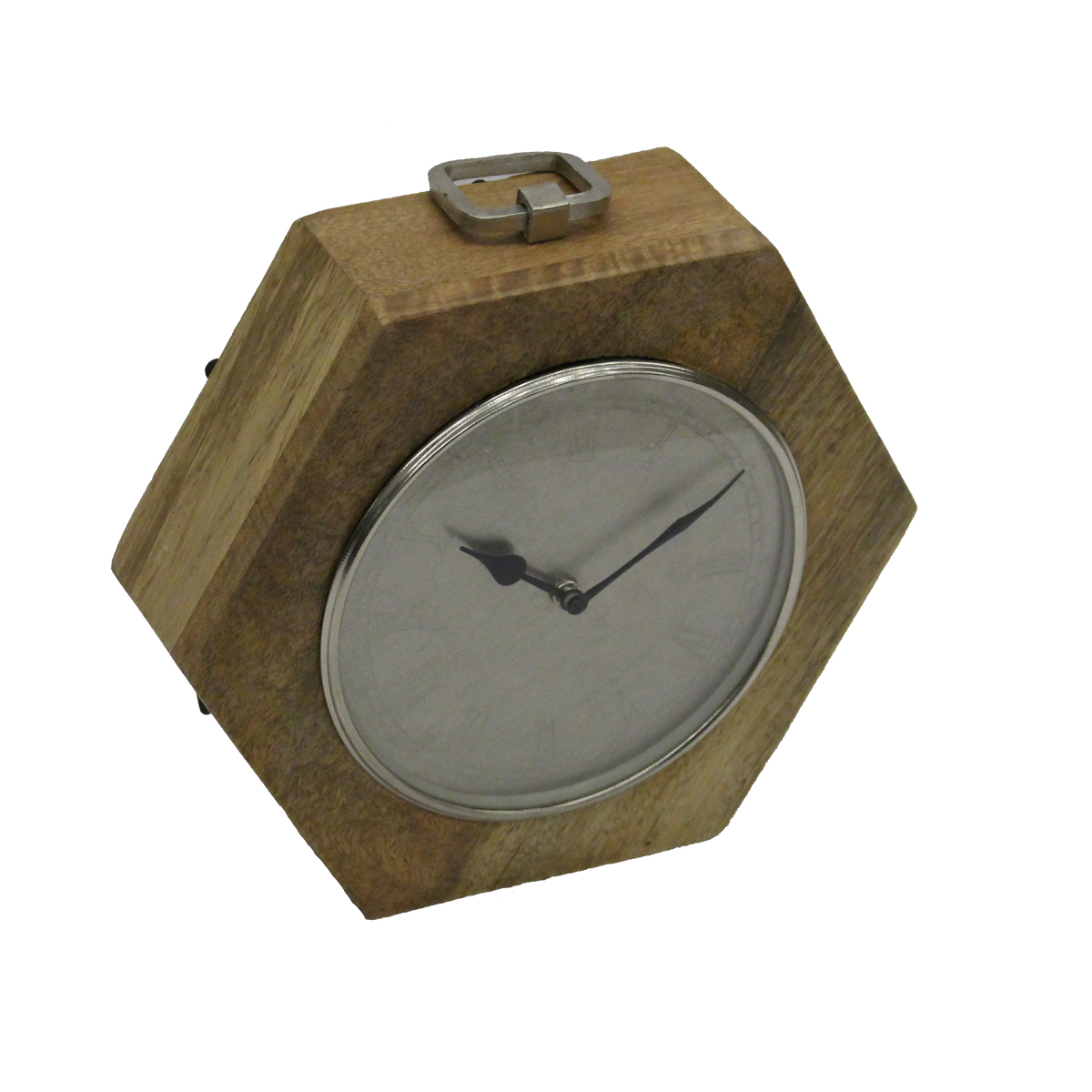 ART DECO HEX CLOCK - LARGE