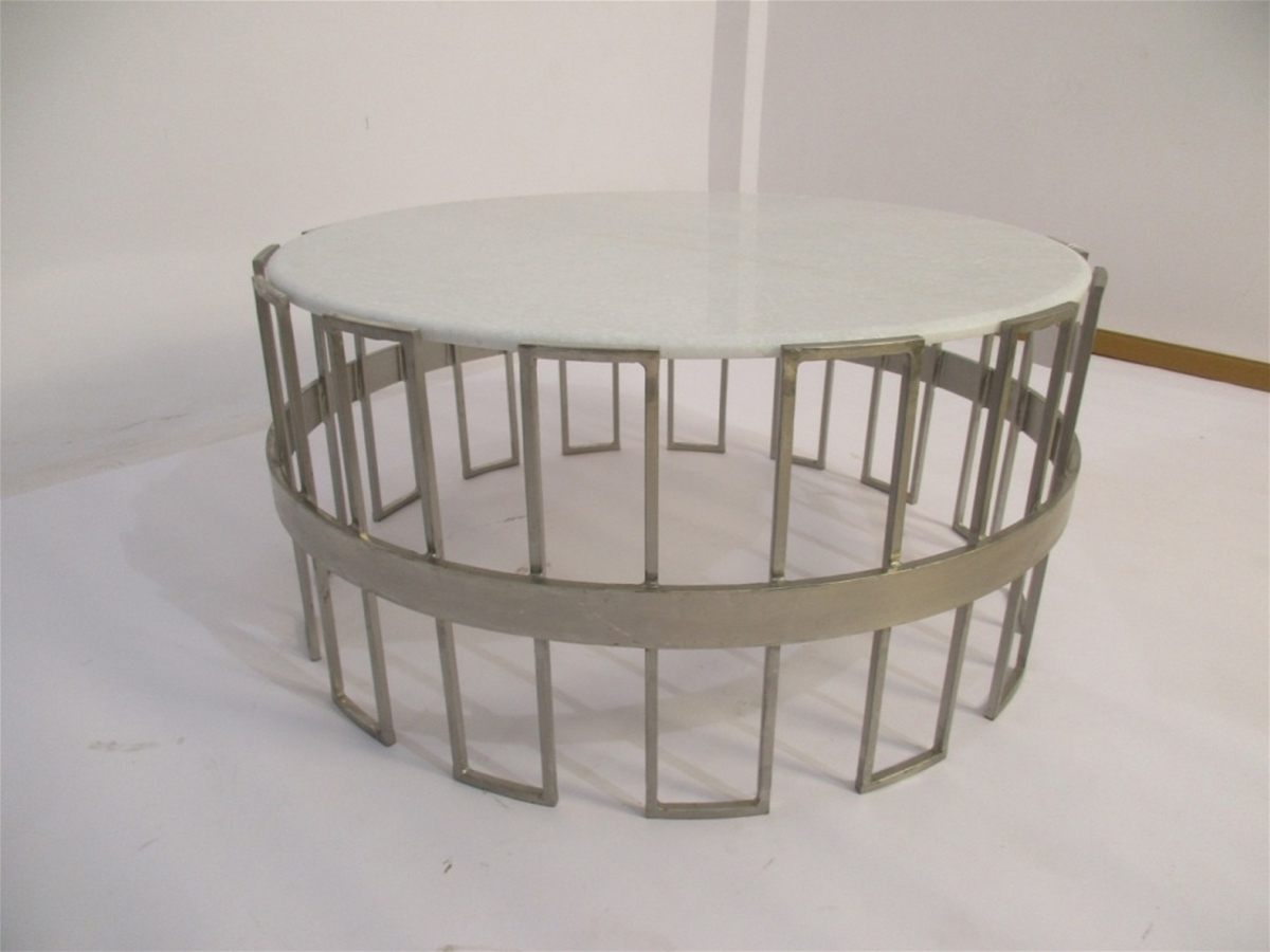 Art Deco Key-Style Coffee Table